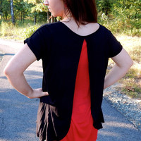 Double Take Top {Black/Red}