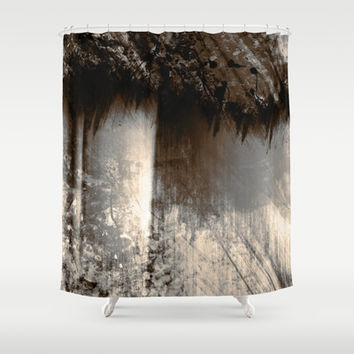 Reign In The Woods Shower Curtain by Timothy Davis