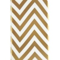 Agent18 - Snap-On Case for Apple® iPhone® 5 and 5s - Gold Chevron