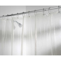 Walmart: InterDesign Clear Rain Shower Curtain