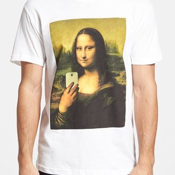 5 Crown 'Mona Lisa Selfie' Graphic T-Shirt