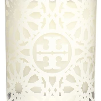Tory Burch White Tile Print Candle