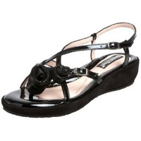 BeautiFeel Women`s Bonbon Sandal,Black Luminous/Pattern Combi,39 EU (US Women`s 9 M)