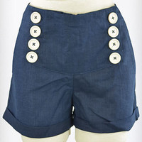 Navy Navigator Shorts