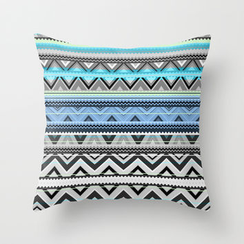 Mix #76 - Double Size Throw Pillow by Ornaart