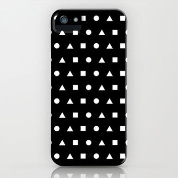 Black And White #2 iPhone & iPod Case by Ornaart