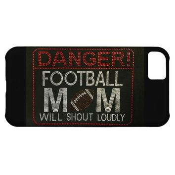 Danger! Football Mom iPhone Case