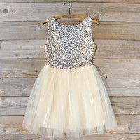 Golden Sugar Party Dress