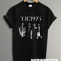 The 1975 Band Shirt 1975 Symbol Printed on Black t-Shirt For Men Or Women Size TS 53