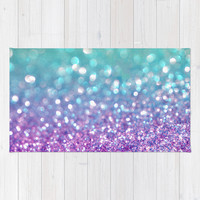 Tango Frost Area & Throw Rug by Lisa Argyropoulos | Society6