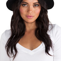 Lovely Bird San Miguel Gold Concho Hat in Black