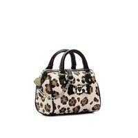 Betsey Johnson Quilted Love Mini Satchel