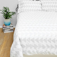 Arrowhead Double Duvet Set in Grey - Urban Outfitters