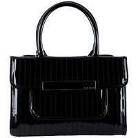 Buy Ted Baker Mardun PVC Tote Handbag, Black online at JohnLewis.com