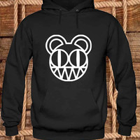 Radiohead Hoodies Hoodie Sweatshirt Sweater Shirt black white and beauty variant color Unisex size