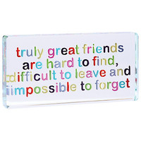 Buy Spaceform Great Friends Token, Landscape  online at JohnLewis.com