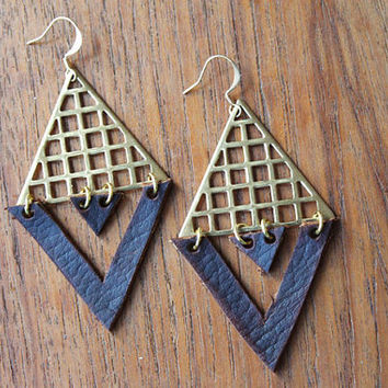 Infinity Geometry Earrings