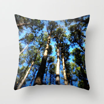 A Blessed Glance Upwards Throw Pillow by 2sweet4words Designs