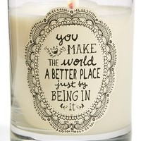 Natural Life 'You Make the World a Better Place' Candle