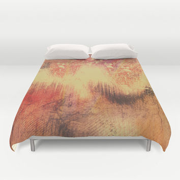 We Drift Deeper  Duvet Cover by Timothy Davis