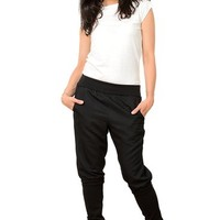"3Elfen baggy pants ""magic leg"" black"