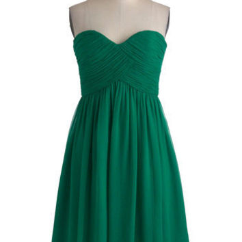 Vert-ing with the Idea Dress | Mod Retro Vintage Dresses | ModCloth.com