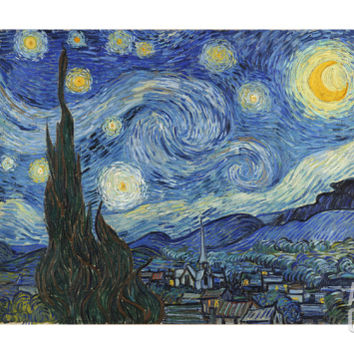The Starry Night, June 1889 Giclee Print by Vincent van Gogh at Art.com