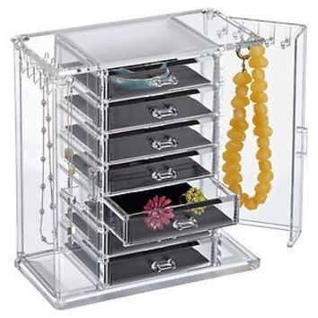 Premium Acrylic Chest   The Container Store