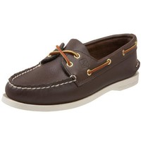 Sperry Top-Sider Women`s A/O 2-Eye Boat Shoe,Brown,8.5 W US