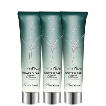 Power Clear D Blemish Cleansing Gel 3 Pack -Factory Seconds* - Mirenesse