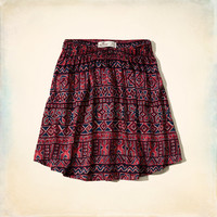 Pebbly Beach Skater Skirt