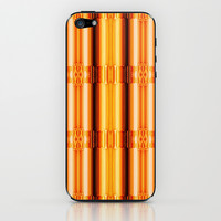 Pattern gold iPhone & iPod Skin by Christine baessler