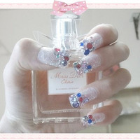 kawaii DIY japanese gyaru fake nails art.nails art