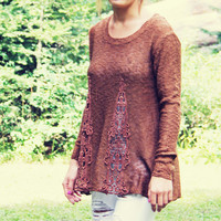 The Rusted Maple Sweater