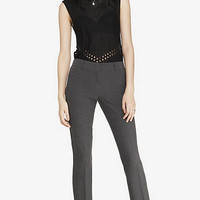 HIGH TWIST STRETCH MID RISE SKINNY PANT from EXPRESS