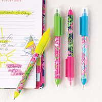 Lilly Pulitzer Pen & Highlighter Set
