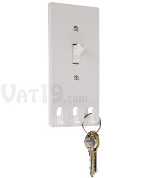 Switch Hooks Wallplate: Create the ideal storage for your keys.