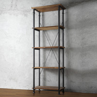 SAVE Home Creek Rustic InspiBookshelf
