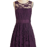 BB Dakota When the Night Comes Dress in Plum | Mod Retro Vintage Dresses | ModCloth.com