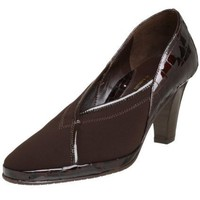 Amalfi by Rangoni Women`s Glinda Pump,T Moro Fabric/T Moro Antic Crocco,6.5 S US