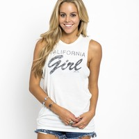 O'Neill CA CALI GIRL TANK from Official US O'Neill Store
