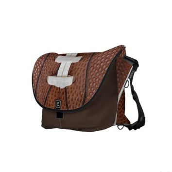 Custom Sports Messenger Bags | Football