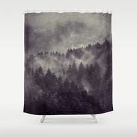 Excuse me, I'm lost Shower Curtain by Tordis Kayma
