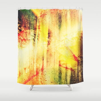 Existing In Thought Shower Curtain by Timothy Davis