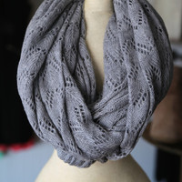 Simple Gray Scarf
