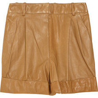 3.1 Phillip Lim Leather shorts - 60% Off Now at THE OUTNET