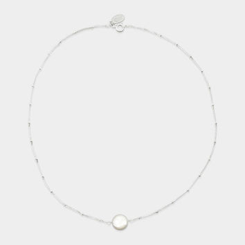 Single Coin Pearl Necklace | MoMA