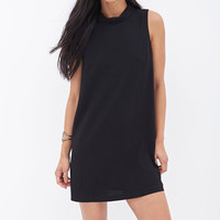 Crepe Woven Shift Dress