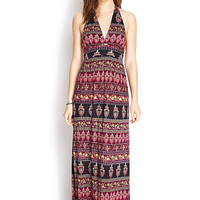 Vintage-Inspired Maxi Dress
