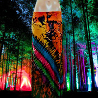 Electric Festival Tie Dyed Maxi Skirt  (Pattern Three)